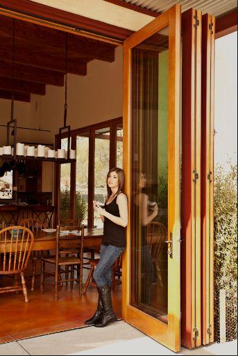 Bi Fold Patio Doors With Internal Blinds: Bifold Patio Doors In Carmel Valley, CA
