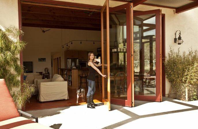 San Diego, CA bifold patio doors
