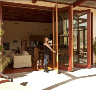 Carmel Valley, CA bifold patio doors
