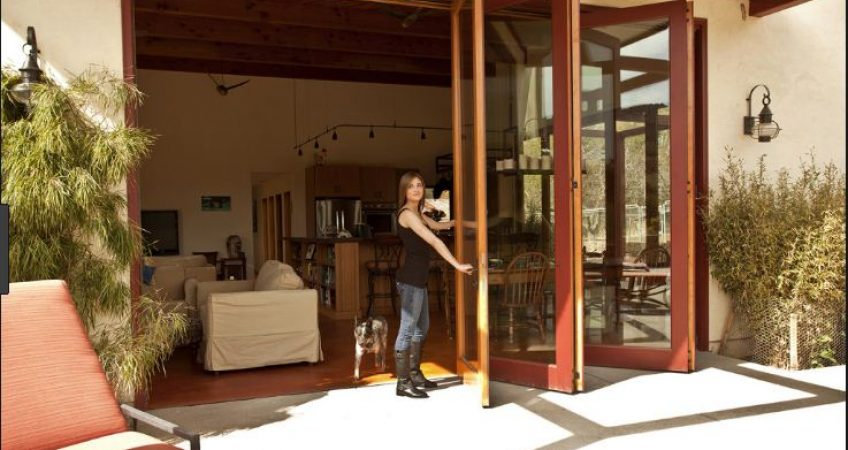 Carmel Valley, CA bifold patio doors