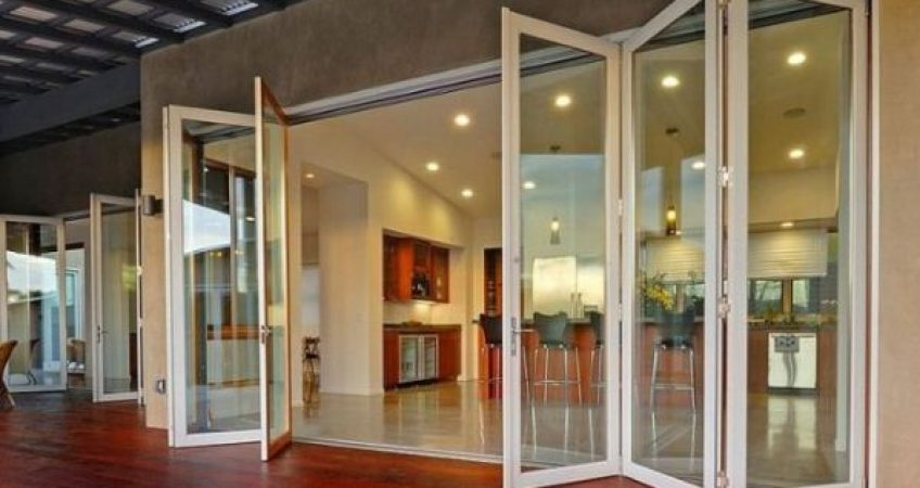Dana Point, CA bifold patio doors