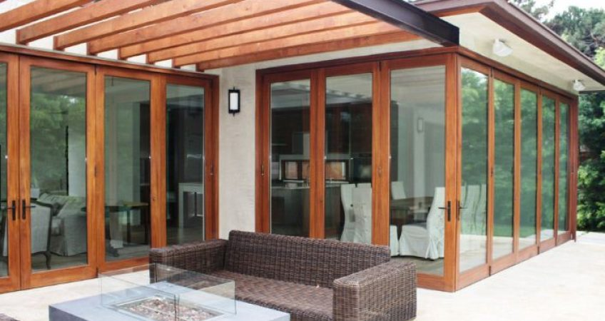 Laguna Beach, CA bifold patio doors