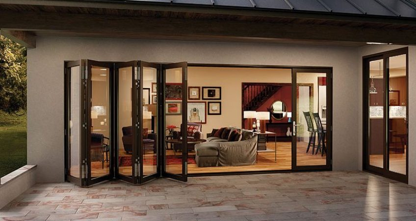bifold patio doors in Rancho Santa Fe, CA